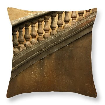The Queen's Staircase Throw Pillow