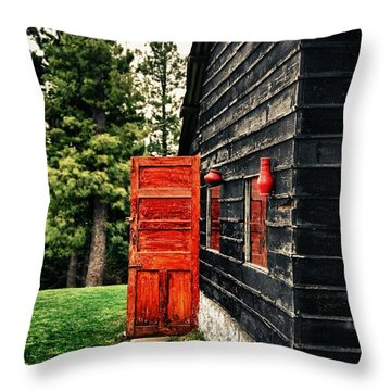 The Secret Inside Throw Pillow by Syed Aqueel