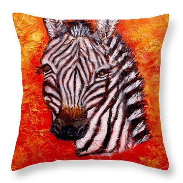 The Seen And Unseen Throw Pillow by The Art With A Heart By Charlotte Phillips