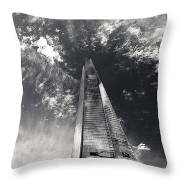 The Shard And London Bridge Throw Pillow