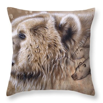 The Source V  Throw Pillow