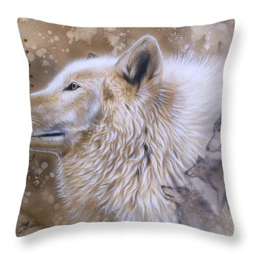 The Source Vi Throw Pillow