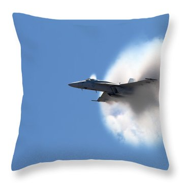 The Speed Of Wow Throw Pillow