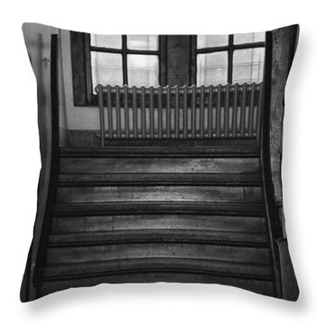 The Stairway Throw Pillow by Rob Hans