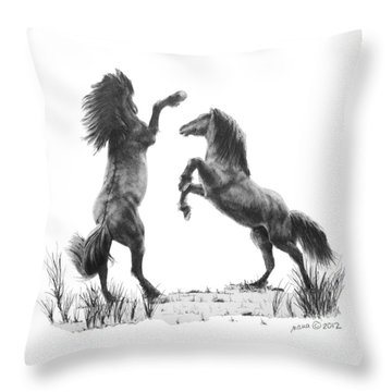 the Stand Throw Pillow