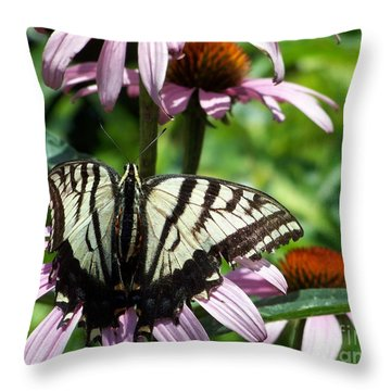 The Survivor Throw Pillow by Dorrene BrownButterfield