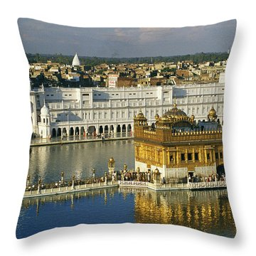 The Temple Complex Throw Pillow