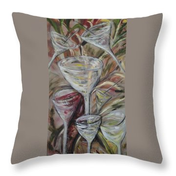 The Winetoast Throw Pillow