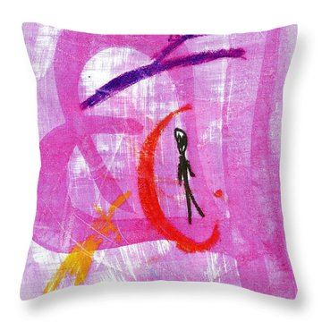 The Transcience And Permanence Of Love Throw Pillow by Patrick Morgan