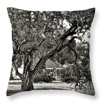 The Tree Which Moves ... Throw Pillow by Gwyn Newcombe