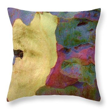 The True Colors Of A Tree Throw Pillow by Robert Margetts