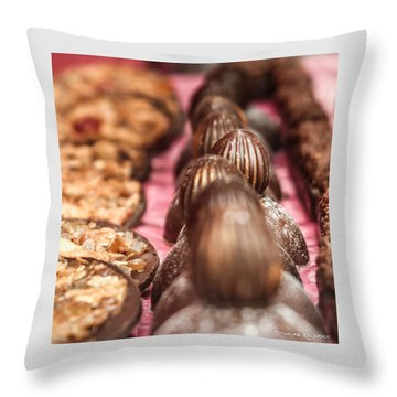 Throw Pillow featuring the photograph The Uncontrollable Greed by Stwayne Keubrick