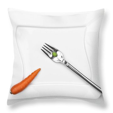 The Vegetables Throw Pillow by Joana Kruse