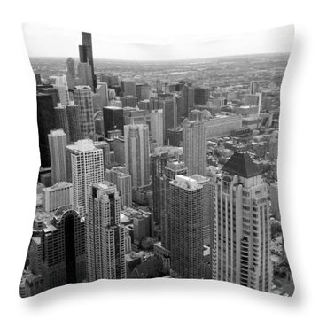 The View From Above Throw Pillow