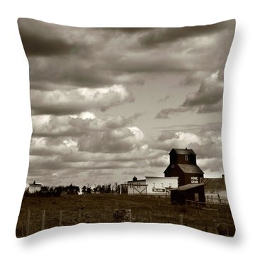 The Village Throw Pillow by Jerry Cordeiro