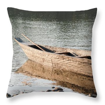 Throw Pillow featuring the photograph The Wait by Fotosas Photography