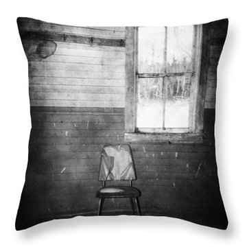 The Wallflowers Seat  Throw Pillow by Jerry Cordeiro