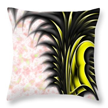 The War Drobe Throw Pillow by Christopher Gaston