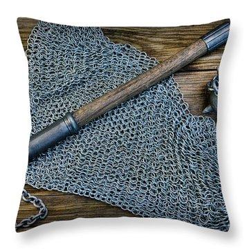 The Warriors Mace Throw Pillow