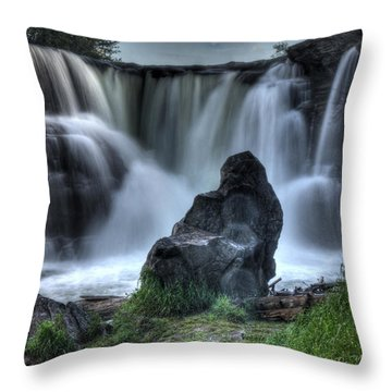 The Watchman Throw Pillow by Bob Christopher