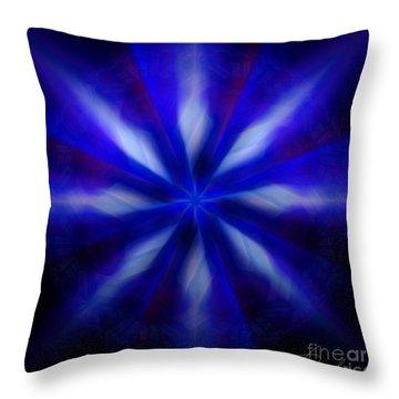 The Wizards Streams Throw Pillow by Danuta Bennett