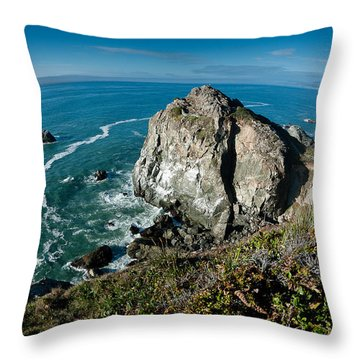 The World Is Round Throw Pillow