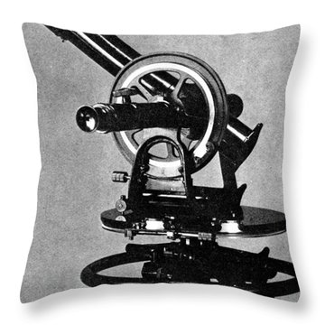 Theodolite, 1919 Throw Pillow by Science Source