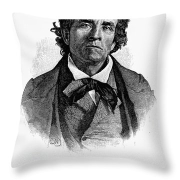 Theodore D. Weld (1803-1895) Throw Pillow by Granger
