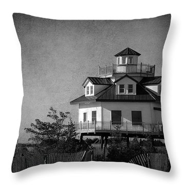 There's A Summer Place Throw Pillow
