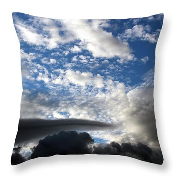 Throw Pillow featuring the photograph There's Always A Promise by Jo Sheehan