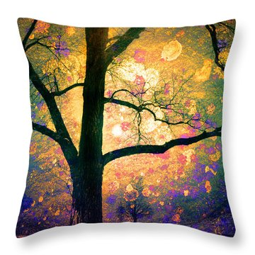 These Dreams Throw Pillow by Tara Turner