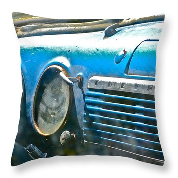 They Both Still Run Throw Pillow by Bill Owen