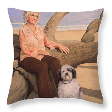 Things I Love Throw Pillow by Jim Ziemer
