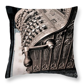 Thinking About Money Throw Pillow