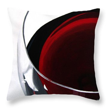 Thirsty? Throw Pillow by Kayleigh Semeniuk