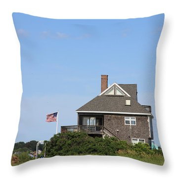 This Is America Throw Pillow by Michael Mooney