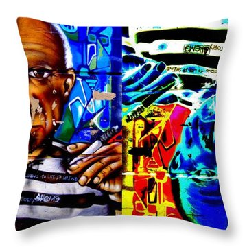 This Little Light Of Mine Times Two Throw Pillow by Randall Weidner
