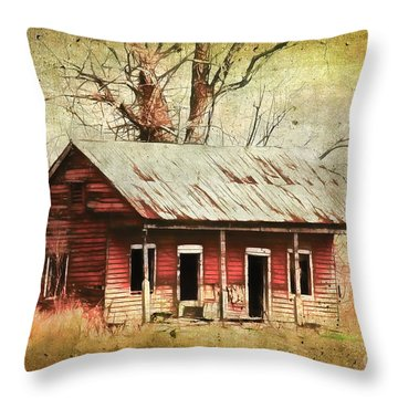 This Old House Throw Pillow by Judi Bagwell