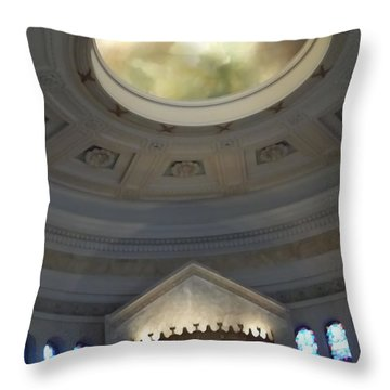 This Way To Heaven Throw Pillow