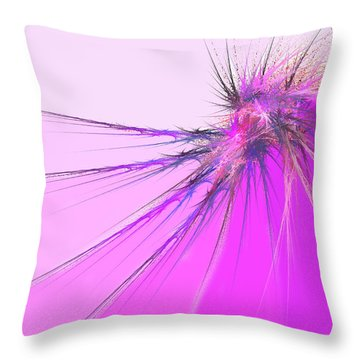 Thistle Throw Pillow by Michael Durst