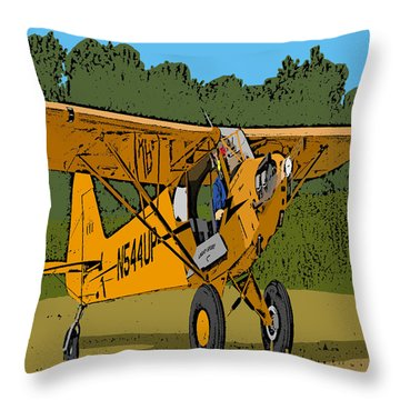 Thomas Throw Pillow by Steven Richardson