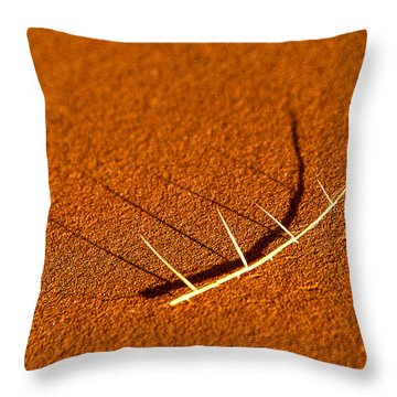 Thorn Shadows Throw Pillow
