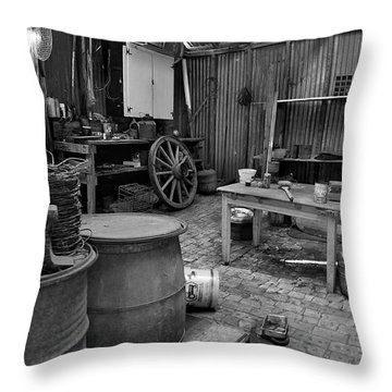 Those Days Are Gone Throw Pillow