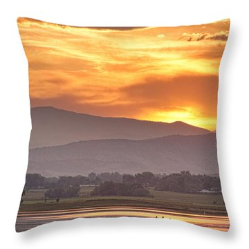 Three Belly Boats Enjoying The View Throw Pillow by James BO  Insogna