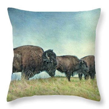 Three In A Row Throw Pillow by Tamyra Ayles
