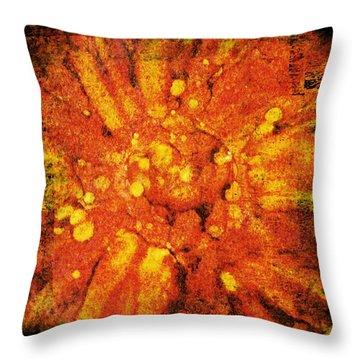 Three Moods Of Modern IIi Throw Pillow by Brett Pfister