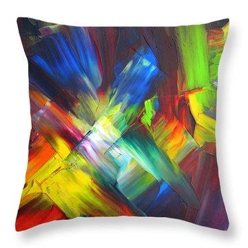 Thrive Throw Pillow by Kathy Sheeran
