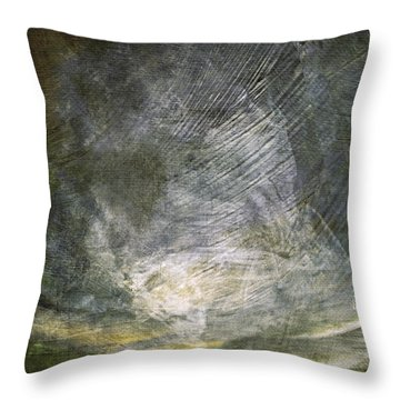 Thunder In The Distance Throw Pillow