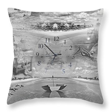 Tidal Pools Throw Pillow