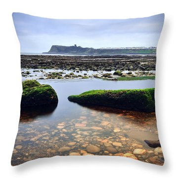 Tide Out Throw Pillow by Svetlana Sewell